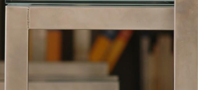 Altre immagini di squadro con finitura in vetro - arredo -