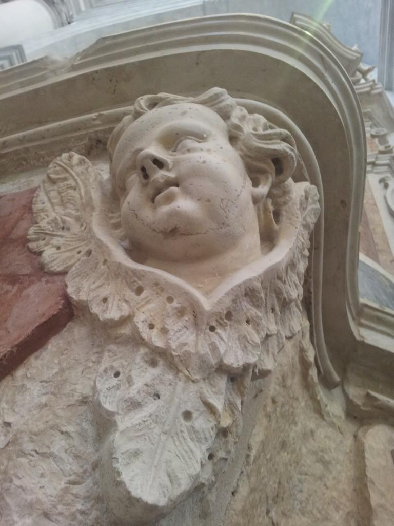 putto su altare della chiesa del torresino a cittadella PD