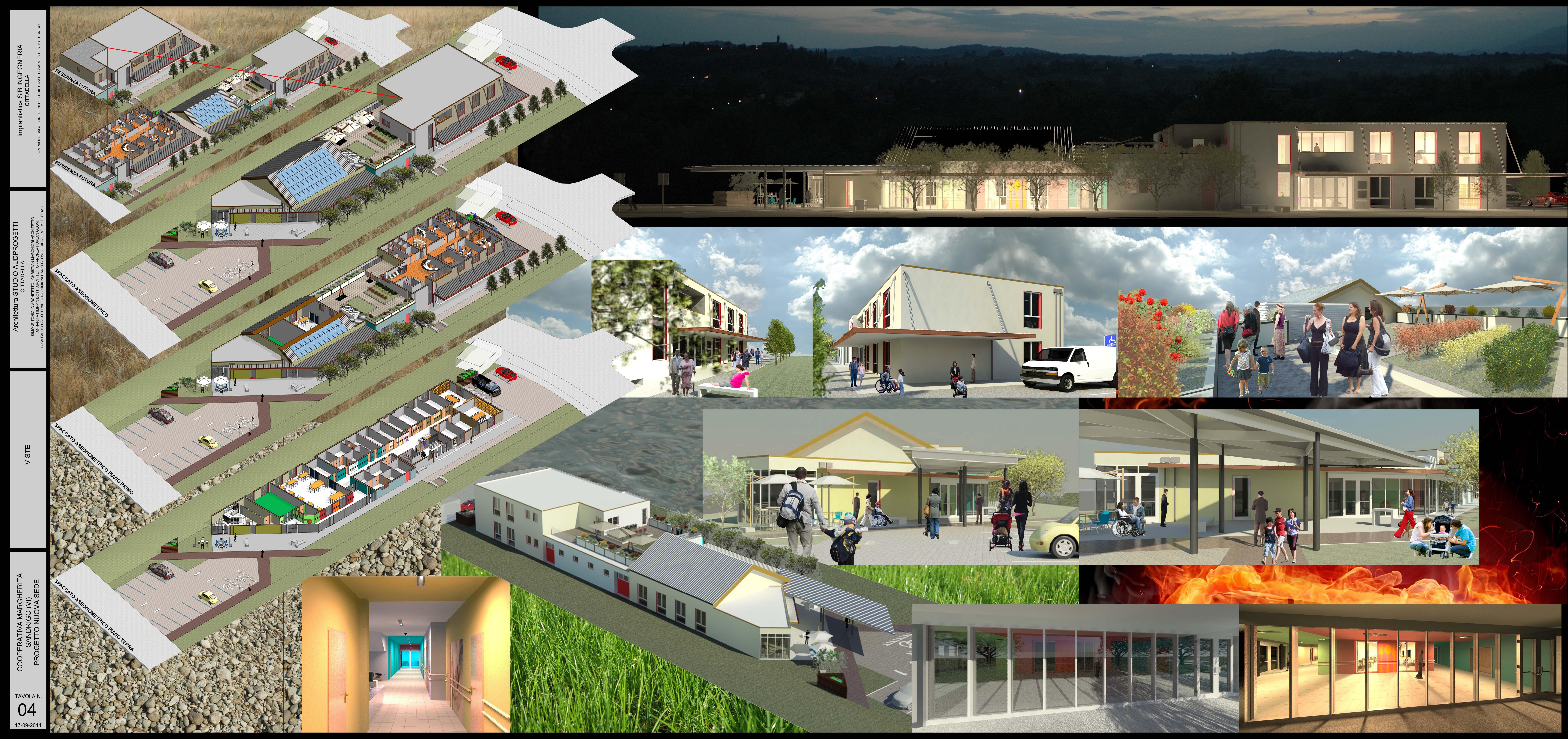 Concorso di idee per la nuova sede della cooperativa - Tavole di concorso architettura ...